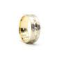 İki Renkli Altın Alyans 7 mm. 5 gr.