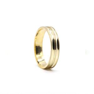 Sarı Altın Alyans 5 mm. 3 gr.