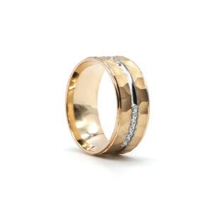 Rose Altın Alyans 8 mm 5,2 gr