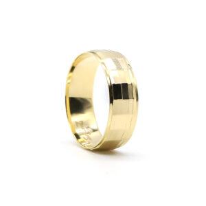 Sarı Altın Alyans 7 mm 4 gr