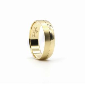 Sarı Altın Alyans 6mm 4 gr