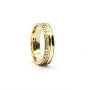 Sarı Altın Alyans 5 mm. 3.30 gr.