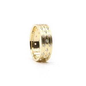 Sarı Altın Alyans 6 mm. 4.20 gr