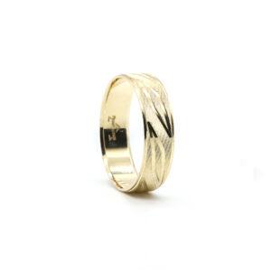Sarı Altın Alyans 6 mm 4 gr